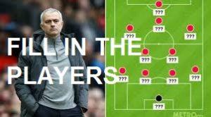 man utd vs Tottenham formation