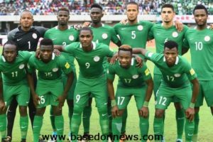 Nigeria squad for world cup 2018