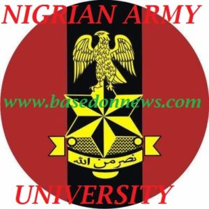 nigeria army university biu admission form 2018/2019