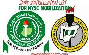nysc mobilization list