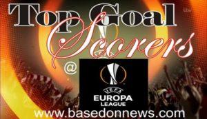 Europa league top goal scorers 2018/2019
