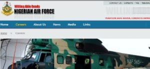nigerian air force