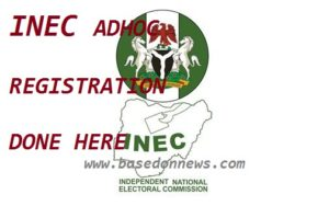 INEC ADHOC REGISTRATION