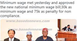 30 thousand naira minimu page