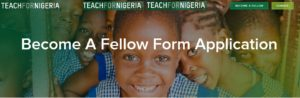 Teach for Nigeria recruitment